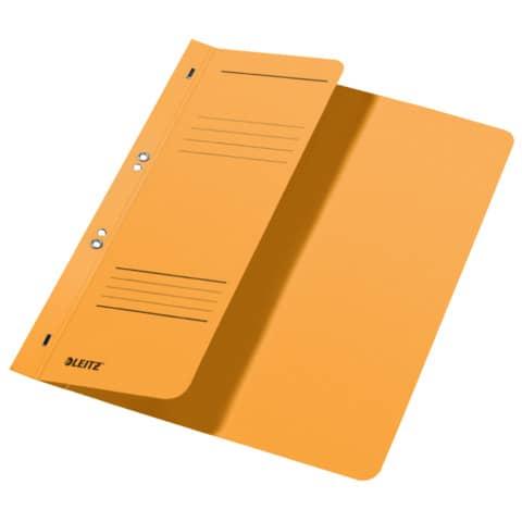 Ösenhefter A4 gelb LEITZ 37400015 halber Deckel Produktbild