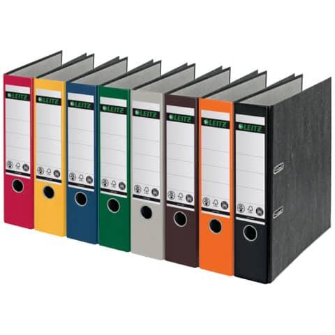 Ordner Pappe A4 8cm rot LEITZ 1080-50-25 Produktbild Stammartikelabbildung XL