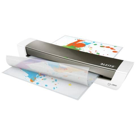 Laminator iLam HomeOffice A3 grau LEITZ 7440-00-89 Produktbild Anwendungsdarstellung XL