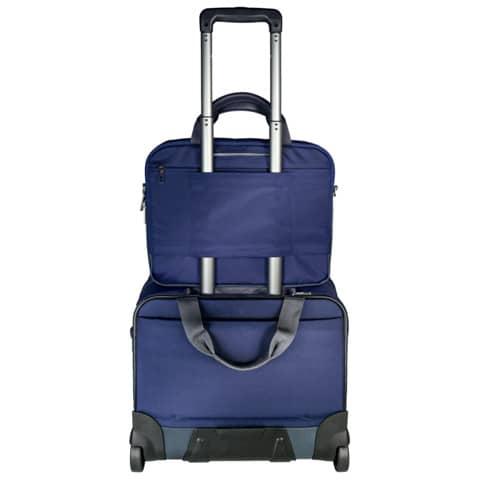 Trolley Complete titan blau LEITZ 6059-00-69 Handgepäck Produktbild Anwendungsdarstellung 3 XL