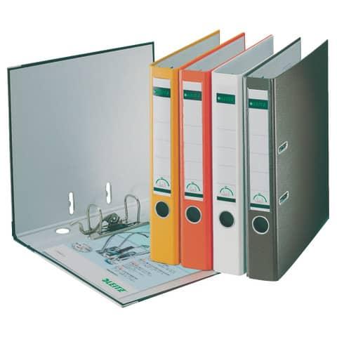 Ordner Plastik A4 5cm weiß LEITZ 1015-50-01 180° Mechanik Produktbild Stammartikelabbildung XL