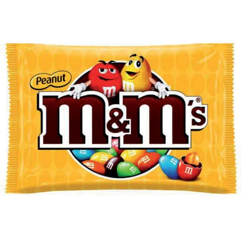 M&Ms Erdnuss 45 g Mars 92696 Produktbild
