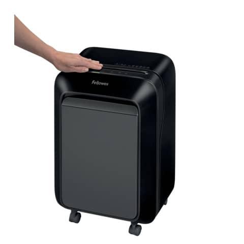 Aktenvernichter Powershred LX 211 schw FELLOWES FW5050201 Part.2x12mm Produktbild Anwendungsdarstellung 2 XL