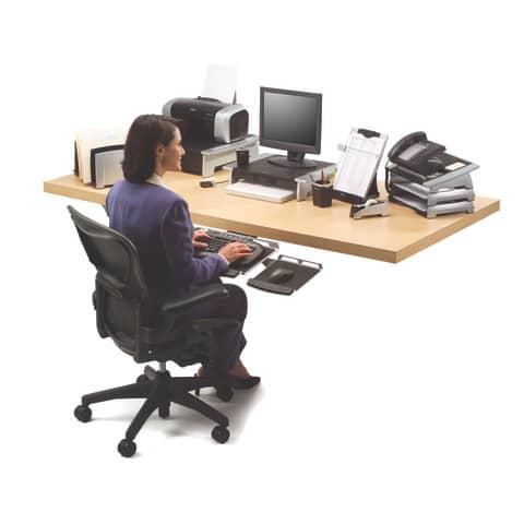 Bildschirmträger FW8031101 FELLOWES FW8031101 KOMPAKT Produktbild Anwendungsdarstellung XL