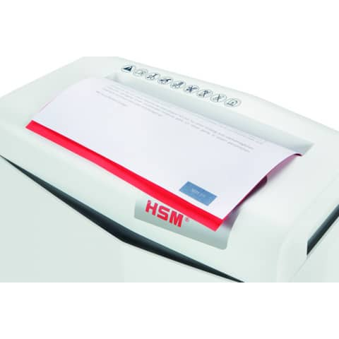 Aktenvernichter Shredstar S5 weiß HSM 1041121 6mm Produktbild Detaildarstellung 4 XL