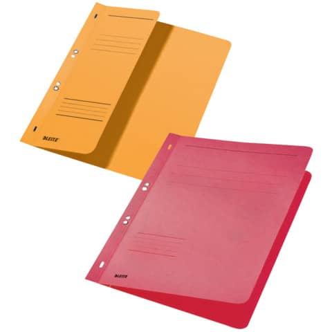 Ösenhefter A4 gelb LEITZ 37400015 halber Deckel Produktbild Stammartikelabbildung XL