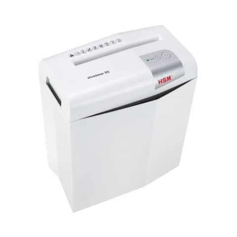 Aktenvernichter Shredstar S5 weiß HSM 1041121 6mm Produktbild Einzelbild 5 XL