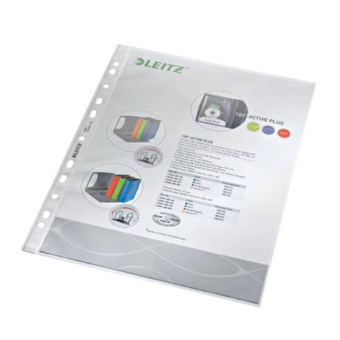 Prospekthülle PP A4 genarbt LEITZ 4790-00-00 100ST 0,07mm Produktbild
