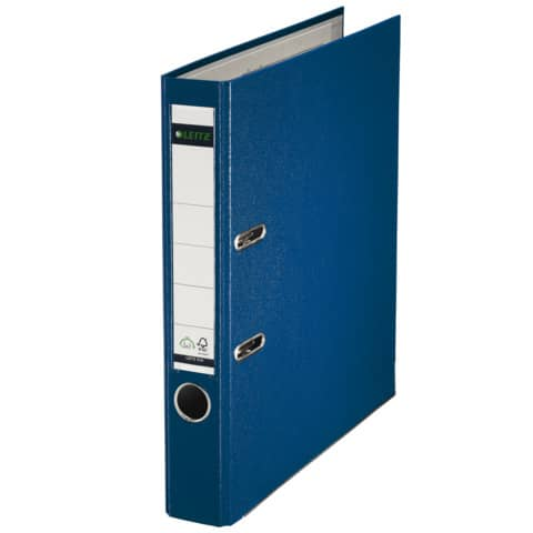 Ordner Plastik A4 5cm blau LEITZ 1015-50-35 180° Mechanik Produktbild Einzelbild 2 XL