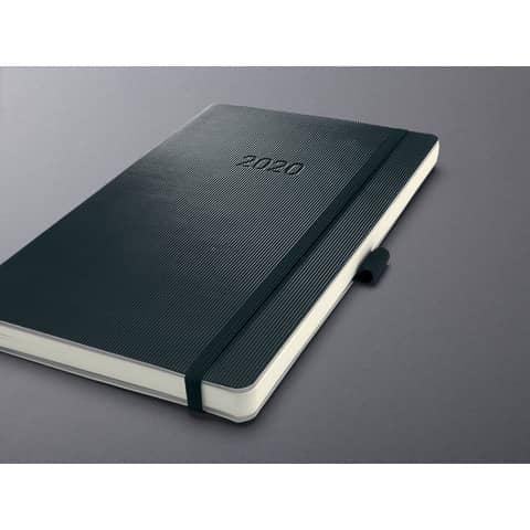 Buchkalender 2020 A6 schwarz SIGEL C2021 CONCEPTUM Produktbild Einzelbild 1 XL