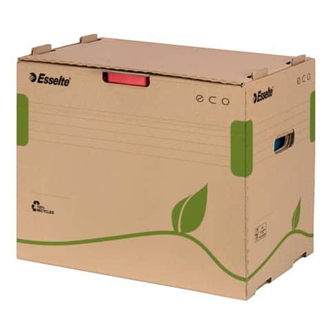 Archiv Container ECO ESSELTE 623920 Ordner braun Produktbild Einzelbild 2 XL