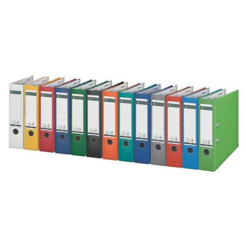 Ordner Plastik A4 8cm rot LEITZ 1010-50-25 180° Produktbild Stammartikelabbildung 1 XL