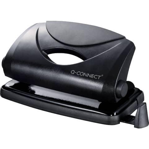 Locher 810P schwarz Q-CONNECT KF01233 Produktbild