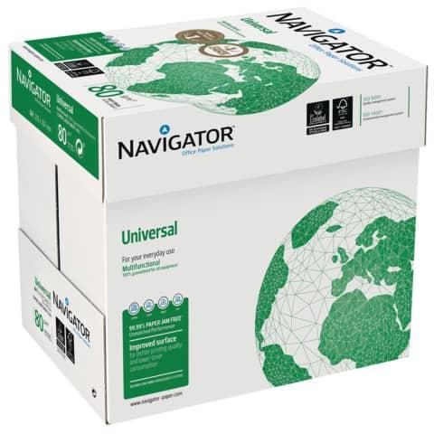 Kopierpapier A4 80g 500Bl weiß NAVIGATOR Universal 8247A80S Produktbild Einzelbild 3 XL