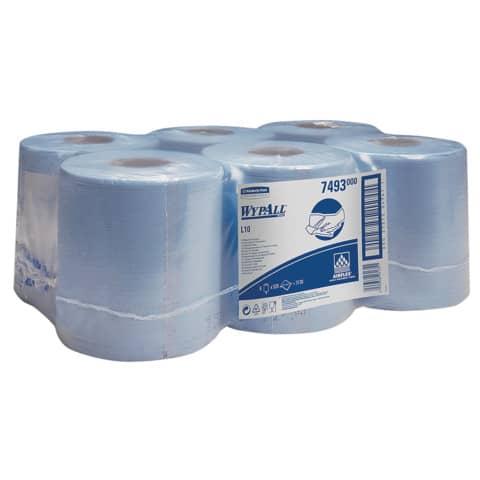 Wischtuch LC blau WYPALL 7493 Produktbild Einzelbild 2 XL