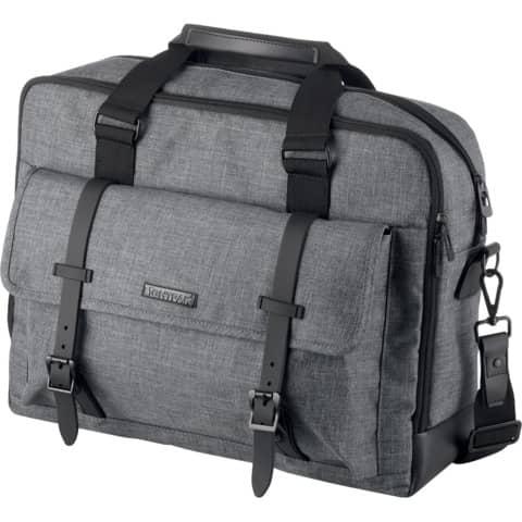 Laptoptasche TWYX grau LIGHTPAK 46163 40x31x12cm Produktbild