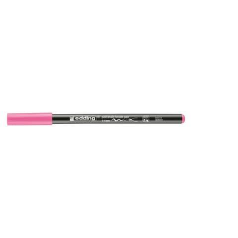 Porzellanmalstift Brushpen rosa EDDING 4200 009 Produktbild Einzelbild 1 XL